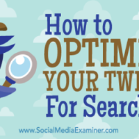 Optimise your tweets
