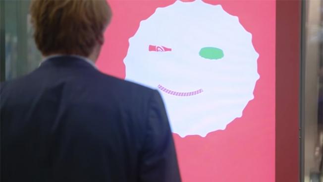 Interactive Coke Ad